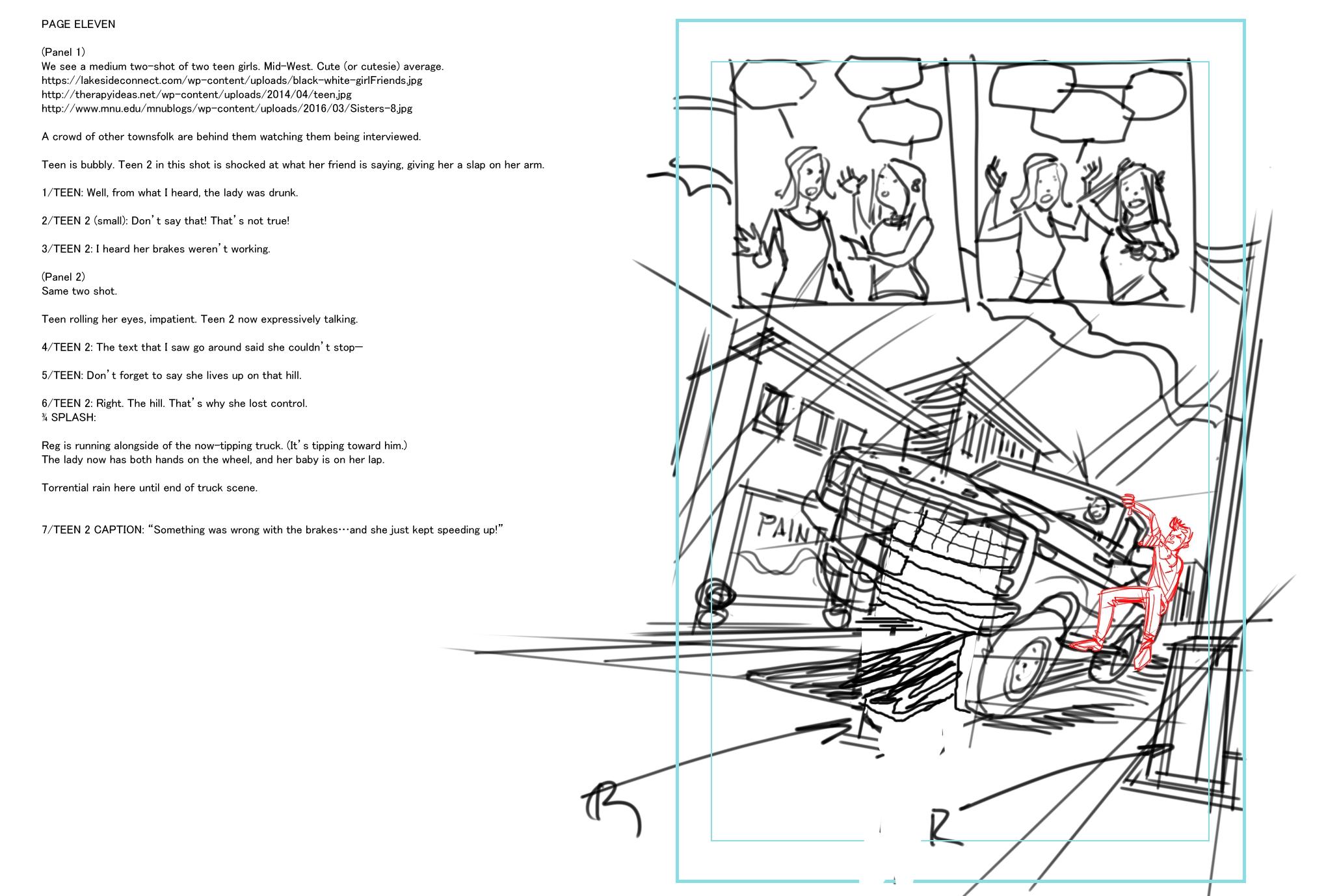 Phantom Kid layout
